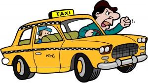 Antara Naik taksi dengan tujuan hidup Galau Cerdas